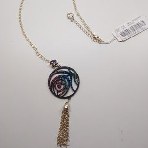Betsey Johnson New Abstract Heart Necklace